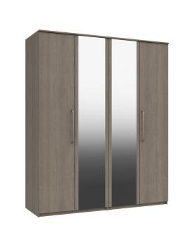Minnesota 4 Door Robe With 2 Mirrors
