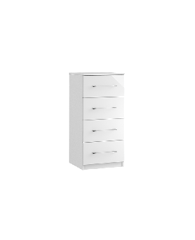 Roma 4 Drawer Narrow Chest