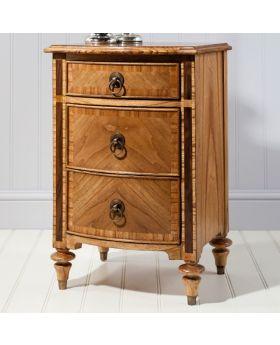 Frank Hudson Spire 3 Drawer Bedside Cabinet