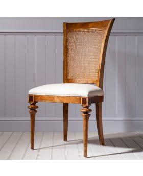 Frank Hudson Spire Cane Back Side Chair
