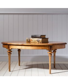 Frank Hudson Spire Oval Coffee Table