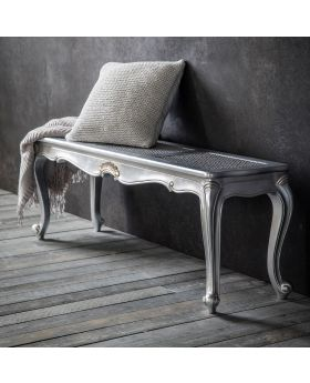 Frank Hudson Chic Bench Silver