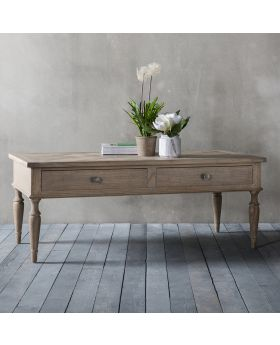 Frank Hudson Mustique 2 Drawer Coffee Table