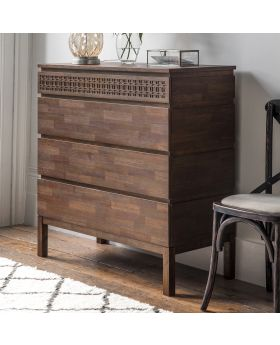 Frank Hudson Boho Retreat 4 Drawer Chest