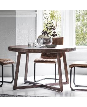 Frank Hudson Boho Retreat Round Dining Table