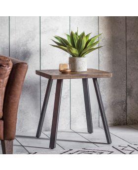 Frank Hudson Camden Side Table Rustic