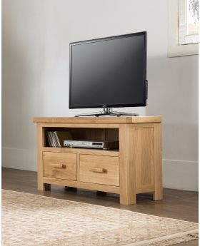 Michael O'Connor Venice Corner Oak TV Unit