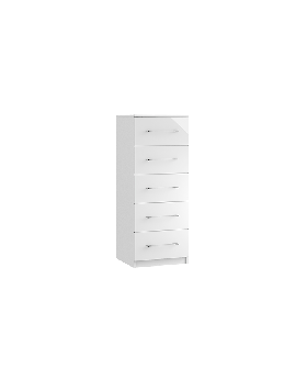 Roma 5 Drawer Narrow Chest