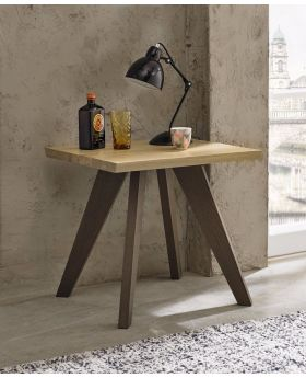 Bentley Designs Cadell Aged Oak Lamp Table