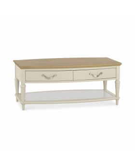 Bentley Designs Montreux Pale Oak & Antique White Coffee Table