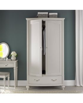 Bentley Designs Montreux Soft Grey Double Wardrobe