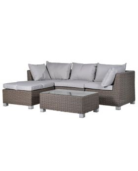 Kingsbury Outdoor Corner Sofa with Table