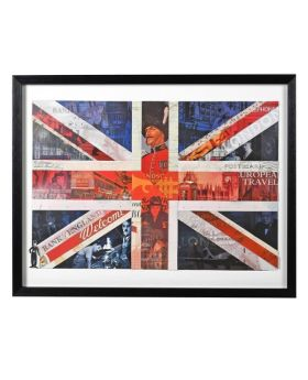 Proud to be British Union Jack Picture