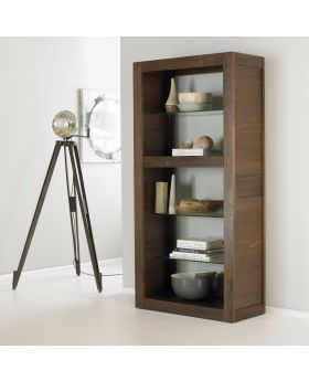 Bentley Designs Akita Walnut Open Display
