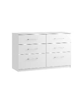Roma 6 Drawer Twin Chest