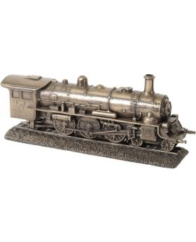 Libra Millbeck Bronze Steam Train Sculpture