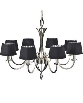 Libra Aperfield Nickel Chandelier