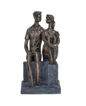 Libra Couple In Love Sculpture