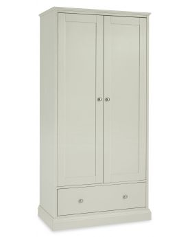 Bentley Designs Ashby Cotton Double Wardrobe