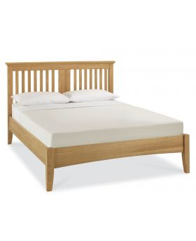 Bentley Designs Hampstead Oak 150Cm Bedstead