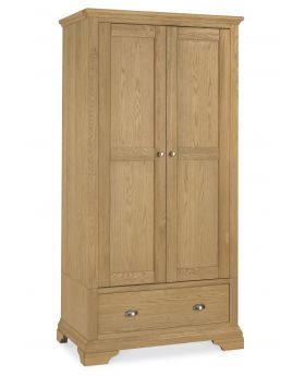 Bentley Designs Hampstead Oak Double Wardrobe