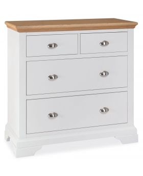 Bentley Designs Hampstead Two Tone 2+2 Drawer Chest