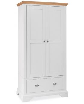 Bentley Designs Hampstead Two Tone Double Wardrobe