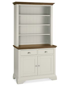 Bentley Designs Hampstead Soft Grey & Walnut Dresser