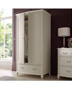 Bentley Designs Bordeaux Ivory Double Wardrobe