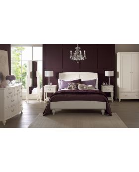 Bentley Designs Bordeaux Ivory Kingsize Bed