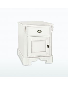 TCH Amore Bedroom 1 Drawer 1 Door Bedside Chest