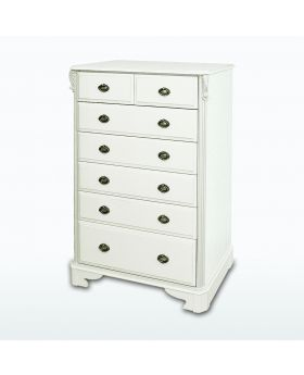 TCH Amore Bedroom 7 Drawer Split Chest
