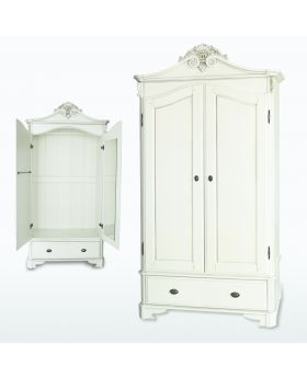 TCH Amore Bedroom 2 Door 2 Drawer Crested Wardrobe