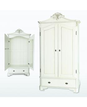 TCH Amore Bedroom 2 Door 2 Drawer Crested Wardrobe