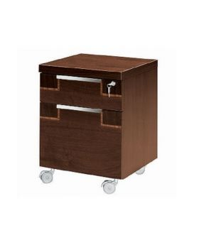 ALF Pisa Home Office 2 Drawer Pedestal with Wheels