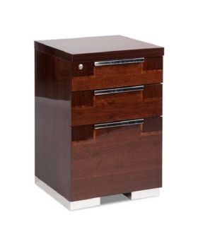 ALF Pisa Home Office 3 Drawer Pedestal with Feet