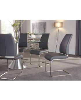 Serene Alicante Faux Leather Dining Chair