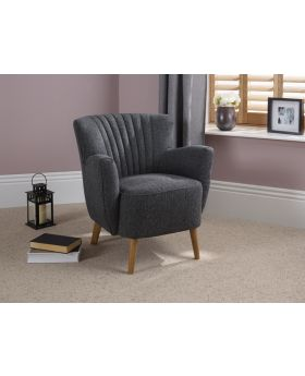 Serene Alloa Fabric Chair