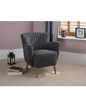Serene Alloa Fabric Chair