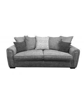 Memphis 3 Seater Sofa Bed Regal (Pillow Back) in XE Fabric