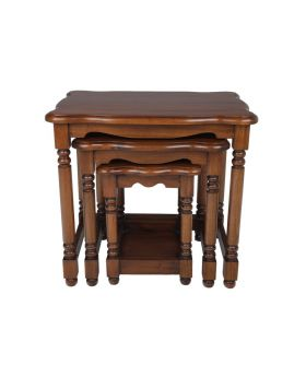 Ancient Mariner Victorian French Nest of Tables
