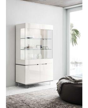 ALF Artemide 2 Door Curio Cabinet