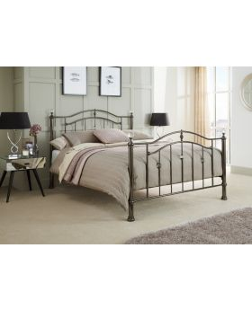 Serene Ashley Metal Bed Frame