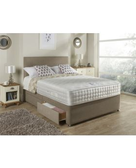 Relyon Dreamworld Aurora Gel Latex Deluxe 1500 Pocket Divan Bed Set