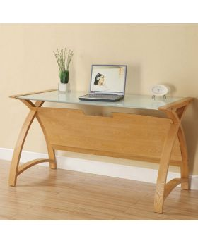 Jual PC201 1300 LT Oak Laptop Table