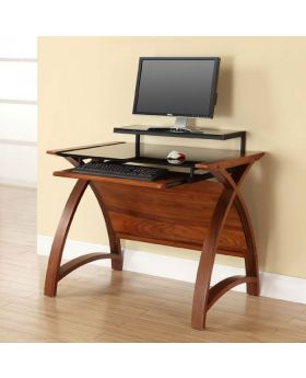 Jual PC201 900 Walnut Computer Desk