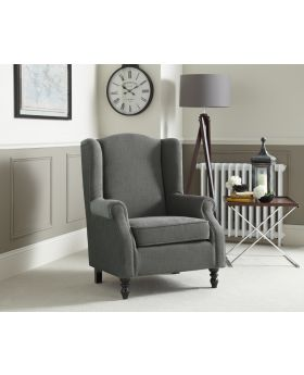 Serene Ayr Classic Wingback Chair
