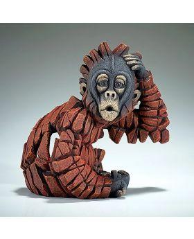 Edge Sculpture Baby Oh! Orangutan