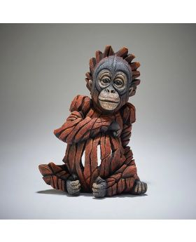 Edge Sculpture Baby Orangutan