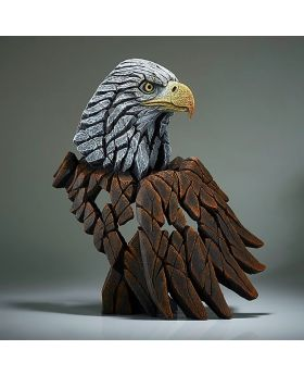 Edge Sculpture Bald Eagle Bust